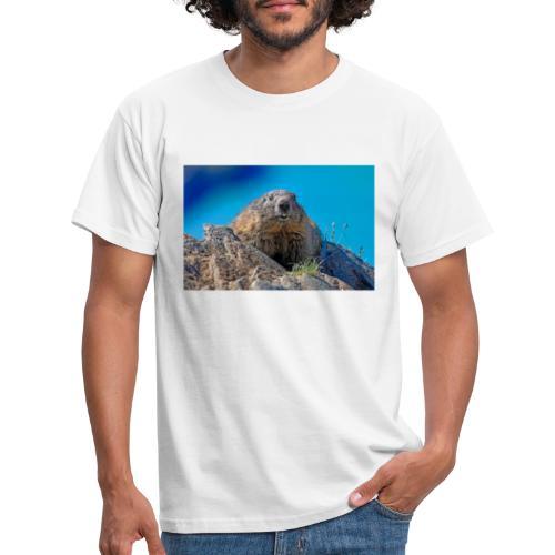 Murmeltier - Männer T-Shirt