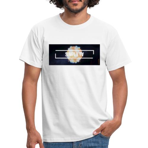 DESIGN SIMPLY-TV - T-shirt Homme