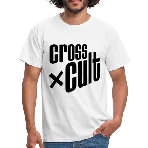 Cross Cult Logo Schwarz - Männer T-Shirt