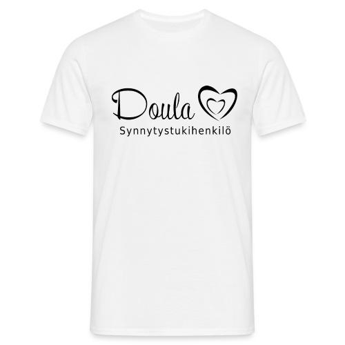 doula sydämet synnytystukihenkilö - Miesten t-paita