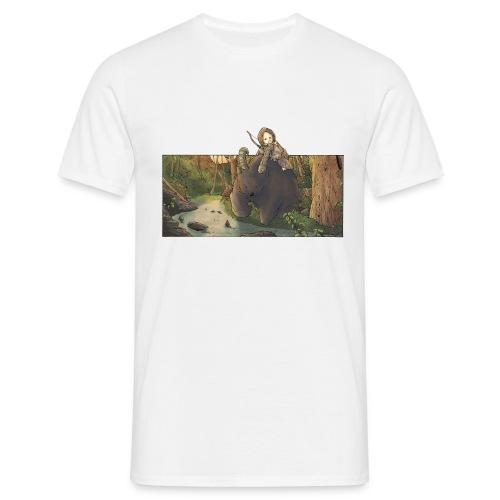 Orso e bambina - Wandering Claw - Maglietta da uomo