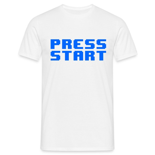 Press Start - Maglietta da uomo