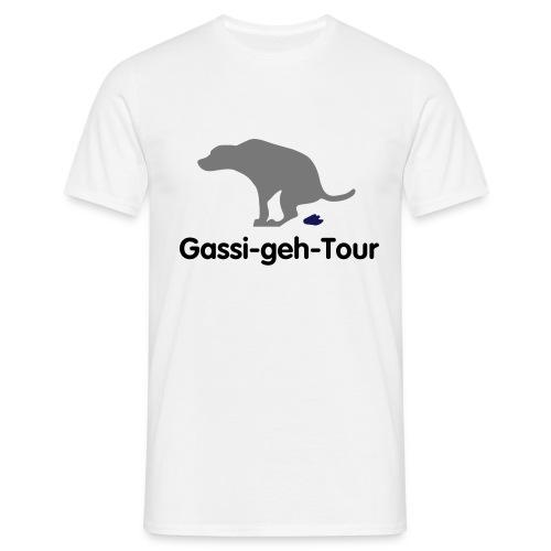 gassigehen - Männer T-Shirt