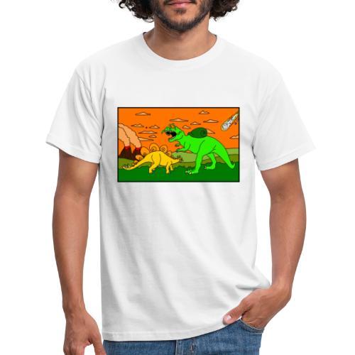 Schneckosaurier von dodocomics - Männer T-Shirt