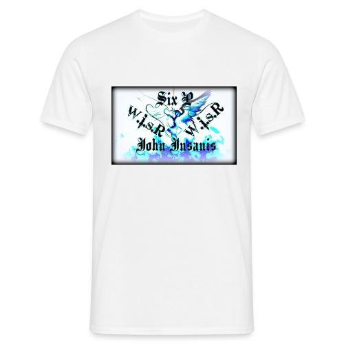 Six P & John Insanis WISR -Huppari- - Miesten t-paita