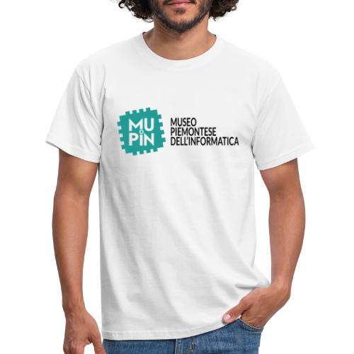 Logo Mupin con scritta - Maglietta da uomo