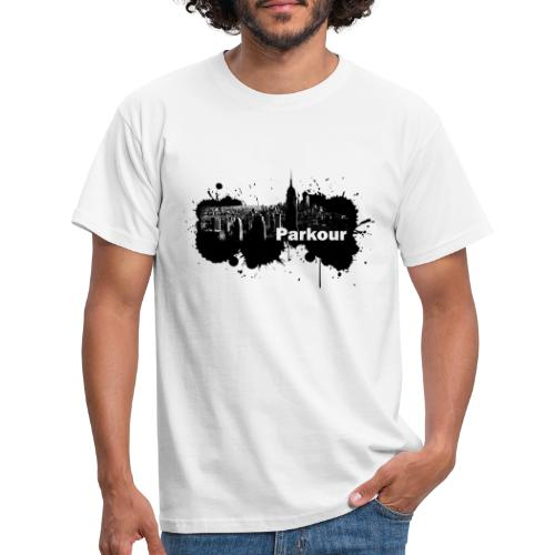 Parkour Splash New York - Herre-T-shirt