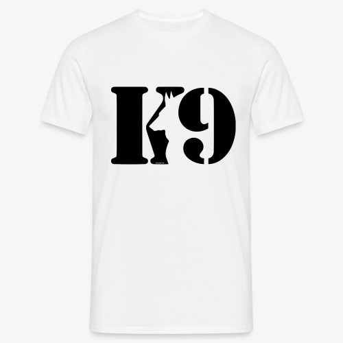 K9 CARDI BLACK LOGO - Men's T-Shirt
