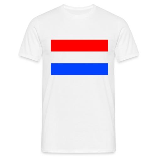 Nederlandse vlag - Mannen T-shirt