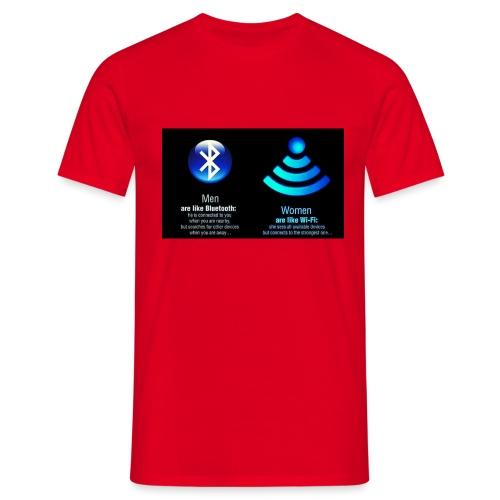 WIFI - Mannen T-shirt