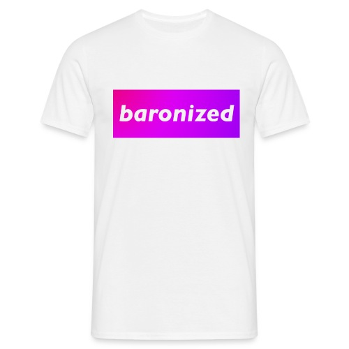 baronized - Männer T-Shirt