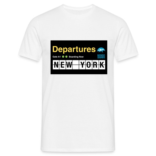Departures Defnobarre 1 png - Maglietta da uomo