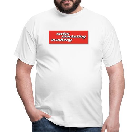 SWIMAC LOGO ROT - Männer T-Shirt