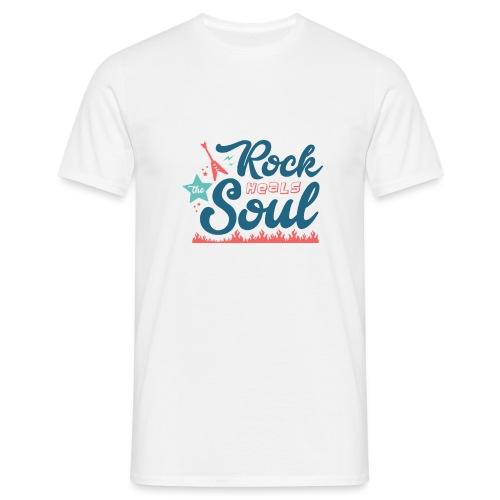 Rock Heals The Soul - Men's T-Shirt