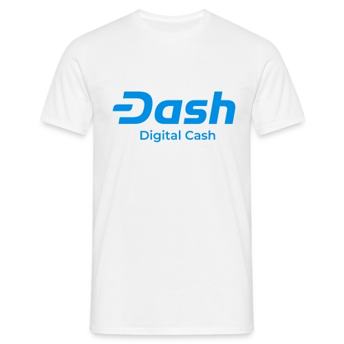 Dash digital cash - Männer T-Shirt