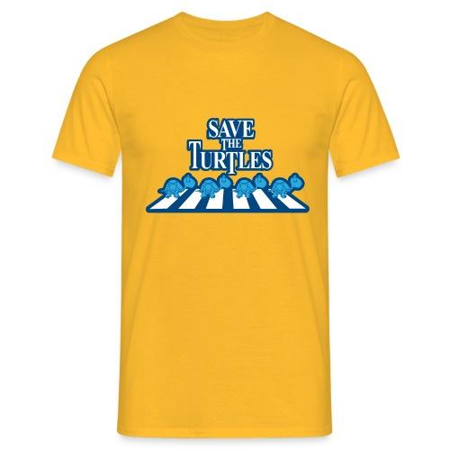 Save the turtles Bluecontest - Men's T-Shirt