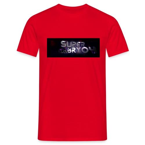 SUPERGABRY04 - Maglietta da uomo