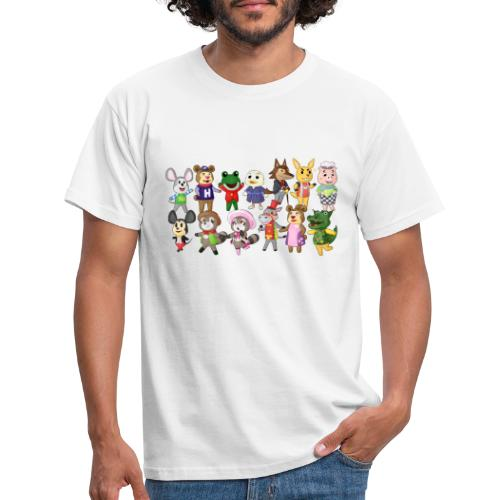 Eilandbewoners - Mannen T-shirt