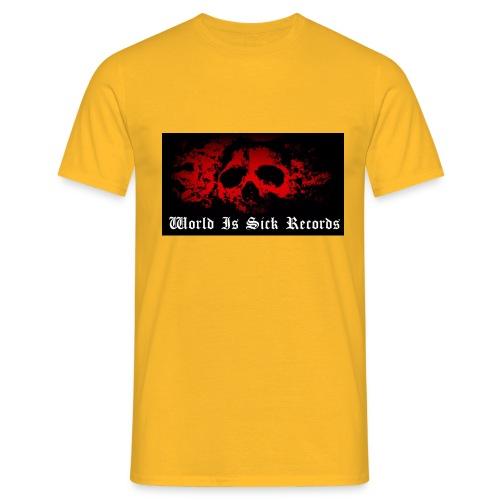 World Is Sick Skull Huppari - Miesten t-paita