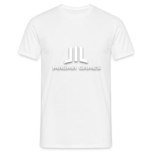 Magma Games mok zwart met - Mannen T-shirt