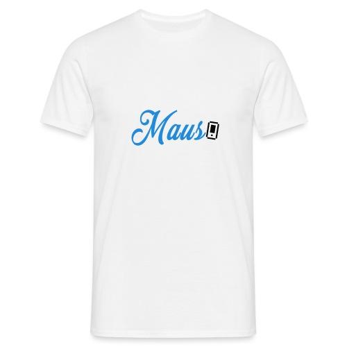 Hoesje MAUS 8Bit Blauw - Mannen T-shirt