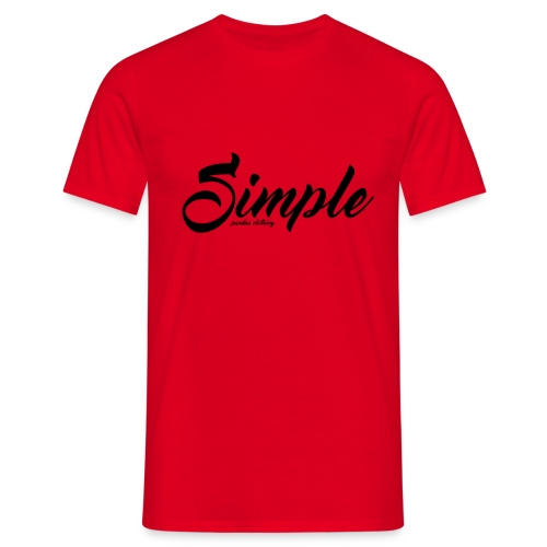 Simple: Clothing Design - Men's T-Shirt