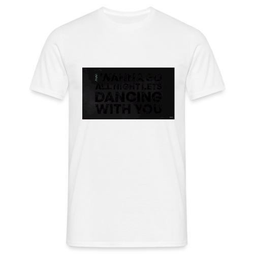 test dancing - Koszulka męska