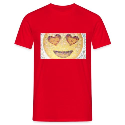 Emoij Hoesje - Mannen T-shirt