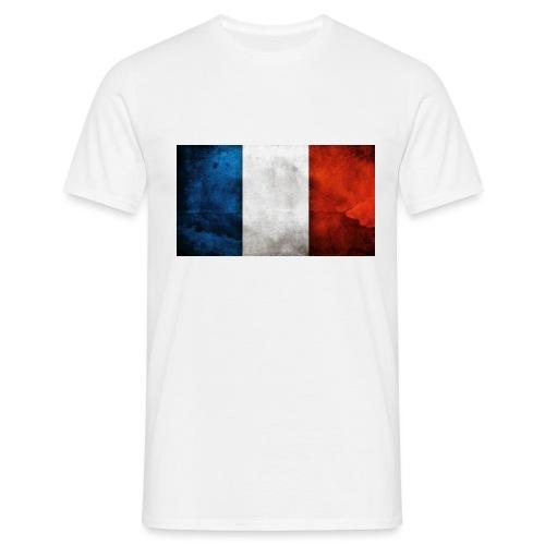 France Flag - Men's T-Shirt