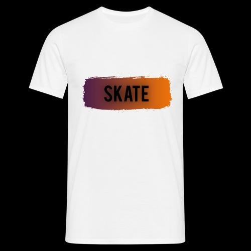 skate brush - Mannen T-shirt