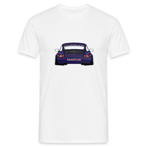 Magenta maritini Sports Car - Men's T-Shirt
