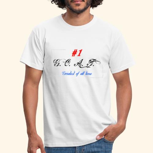 Greatest of all time - Männer T-Shirt