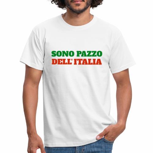 Sono Pazzo Dell'Italia - T-shirt Homme