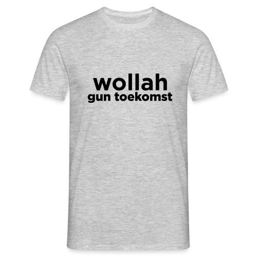 Wollah Gun Toekomst - Mannen T-shirt