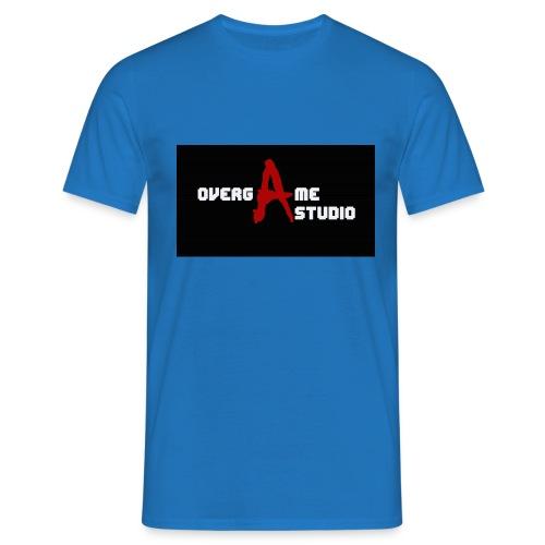 overgameStudio Logo - T-shirt Homme