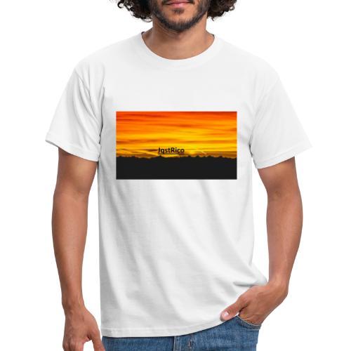 SunSet - Herre-T-shirt