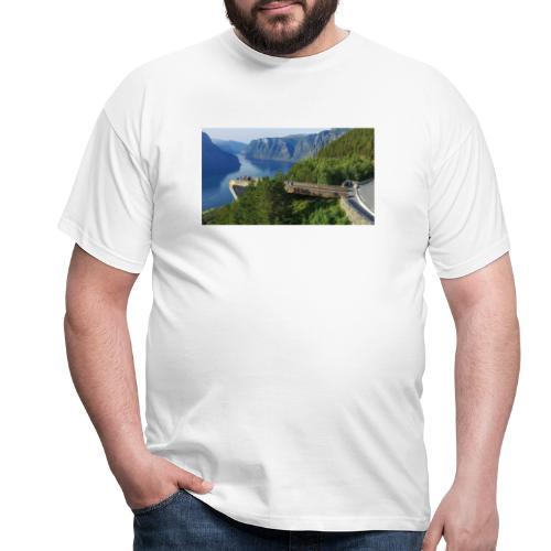 flåm - T-skjorte for menn