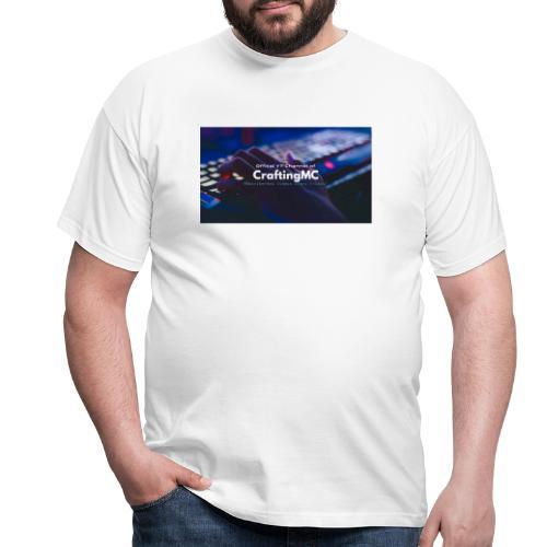 CraftingMC Banner - Männer T-Shirt