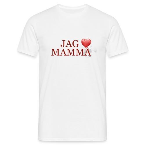 Jag älskar mamma - T-shirt herr