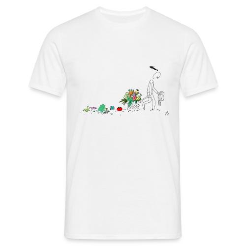 frukt og grønt handleveske - T-skjorte for menn