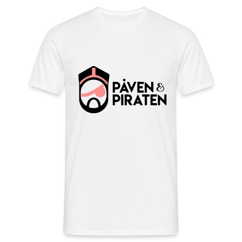 påven piraten - T-shirt herr