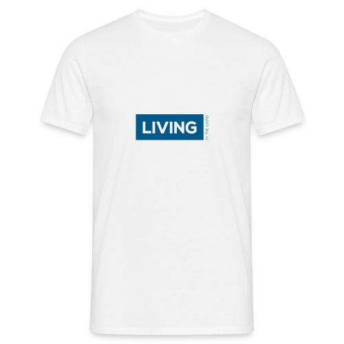 TS living water blau - Männer T-Shirt