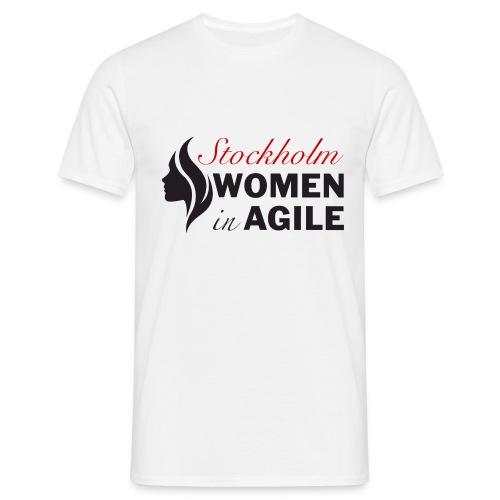 Women In Agile Stockholm - T-shirt herr
