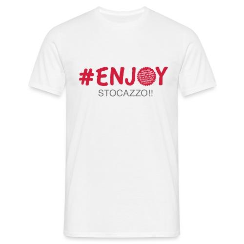 EnjoyStoCazzo 1 - Maglietta da uomo