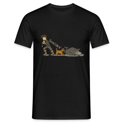 Hundeführer - Männer T-Shirt
