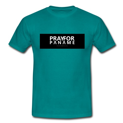 TEE-SHIRT HOMME - PRAY FOR PANAME - T-shirt Homme