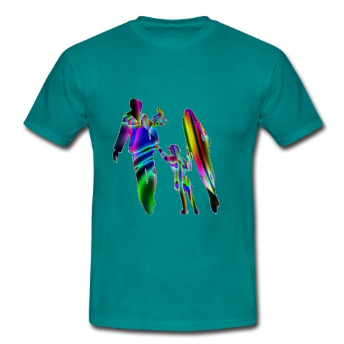 famille nombreuse GIF - T-shirt Homme