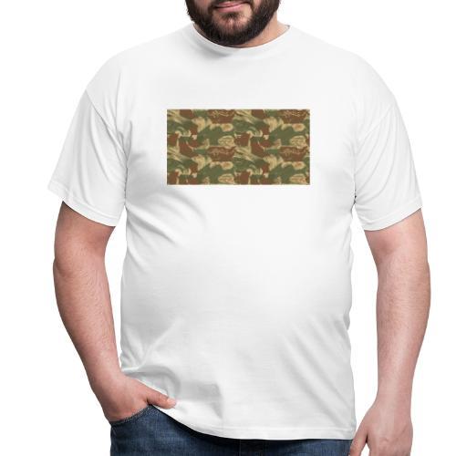 Rhodesian Brushstroke Camo - Men's T-Shirt