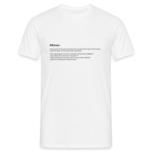 Bibitone - Maglietta da uomo