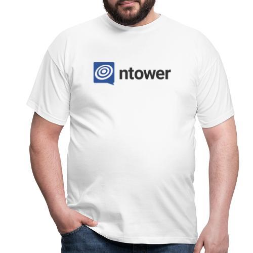 ntower Logo - Männer T-Shirt